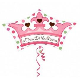 "Globos de foil de 18"" Corona Princesa"