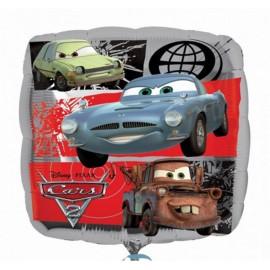 "Globos de foil de 18"" Cars 2"