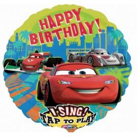 "Globos de foil de 28"" musical Cars"