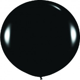 Globos 3FT (100cm) Fashion solido Negro