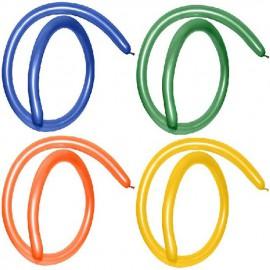 Globos modelar 160S colores Metálicos surtidos