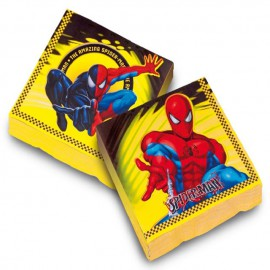 Servilletas Spiderman 20uni