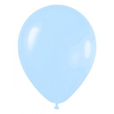 "Globos de 9"" (22,8cm) Pastel Azul"