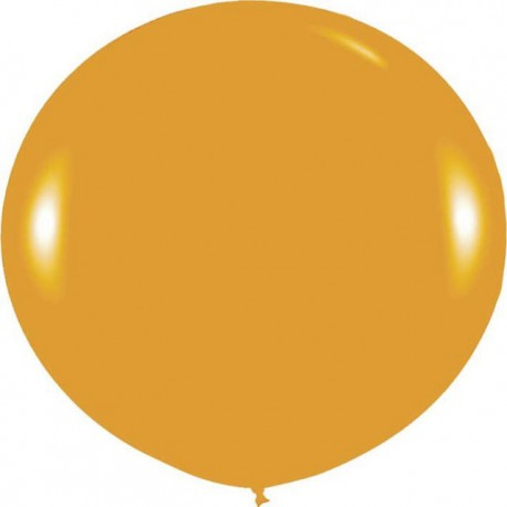 Globos 3FT (100cm) Oro Metálico Sempertex