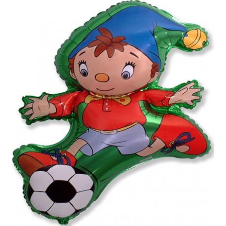 "Globos de foil supershape de 39"" X 26"" (98cm x 65cm) Noddy Futbolista"