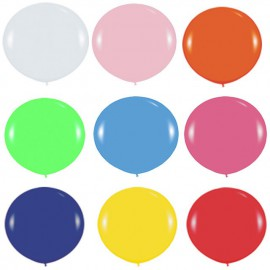 Globos Gigantes de 3Ft colores solidos surtidos Sempertex