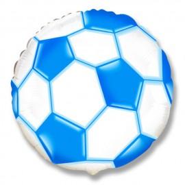 """Globos de Foil Redondos de 18"""" (46Cm) Balón Azul"""