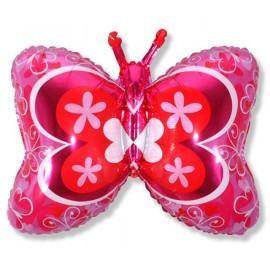 "Globos de foil Forma de 23"" x 35"" (59Cm x 89Cm) Mariposa Deco"