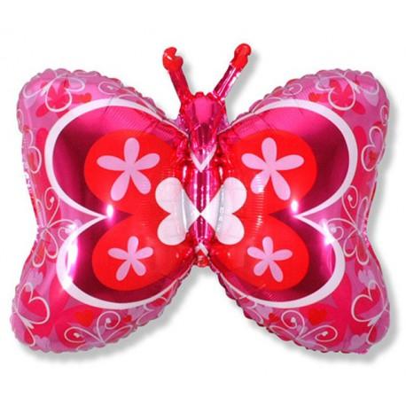 Globos de foil Forma de 23cm x 35cm (59Cm x 89Cm) Mariposa Deco