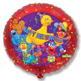"Globos de Foil Redondos de 18"" (46Cm) Barrio Birthday"