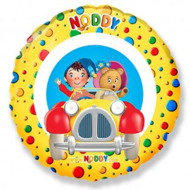 "Globos de Foil Redondos Mini de 9"" (23Cm) Noddy"