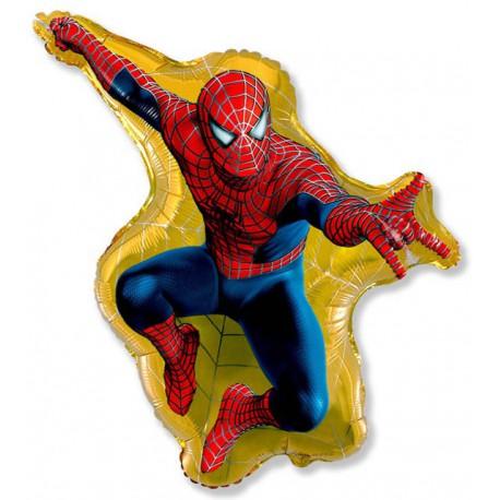 """Globos de foil Minishape de 13"""" X 11"""" (34cm x 28cm) Spiderman 3"""