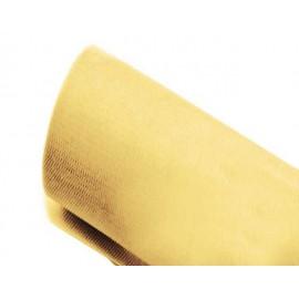 Tulle 43cm x 23m color oro