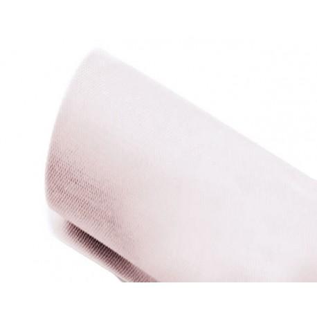 Tulle 43cm x 23m color Blanco