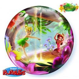 "Globos de foil de 22"" Bubbles Disney Campanilla"