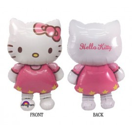 "Globos de foil de 50"" Airwalker Hello Kitty"