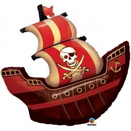 """Globos de foil de 40"""" (102Cm) Barco Pirata"""