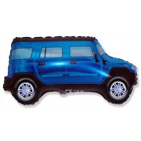 "Globos de foil de 19"" X 33"" (48cm x 85cm) Tracción Total Azul"