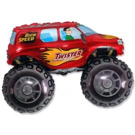 "Globos de foil de 27"" X 38"" (68cm x 96cm) Big Wheel Rojo"