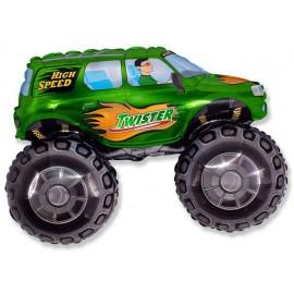 "Globos de foil de 27"" X 38"" (68cm x 96cm) Big Wheel Verde"