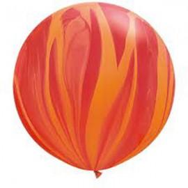 Super Agata 3FT (100cm) Rojo Naranja