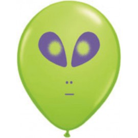 "Globos de 5"" (13Cm) Alien Qualatex"