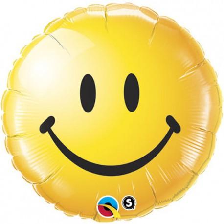 "Globos de foil de 18"" (46Cm) Sonrize amarillo"