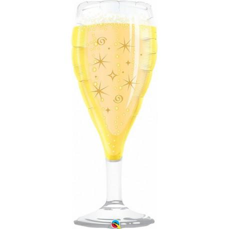 """Globos de foil de 39"""" (99Cm) Copa Champagne qualatex"""