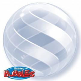 "Globos de foil de 20"" (50Cm) Bubbles Espiral"