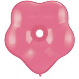 """Globos Geo Blossom 6"""" color Rosa"""