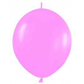 "Globos de 12"" LINK O LOON Rosa Chicle"