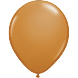 "Globos redondos de 11"" Fashion Mocha Brown"