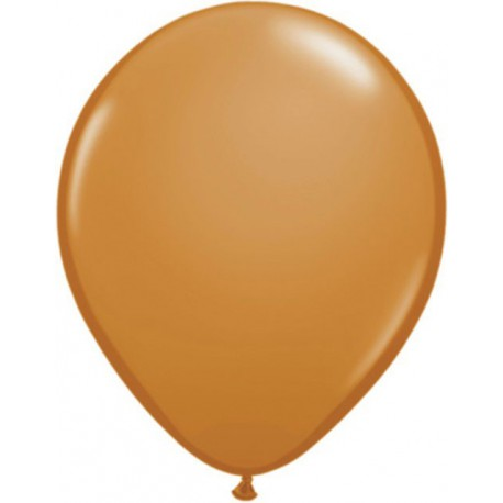 "Globos redondos de 11"" Fashion Mocha Brown Qualatex"