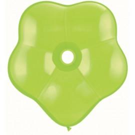 """Globos Geo Blossom 6"""" color Verde lima"""