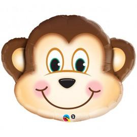 """Globos de foil de 35"""" (89Cm) ¡Que Mono!"""