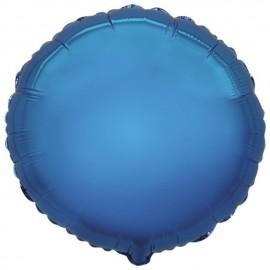 """Globos de foil Redondos de 9"""" Azul"""