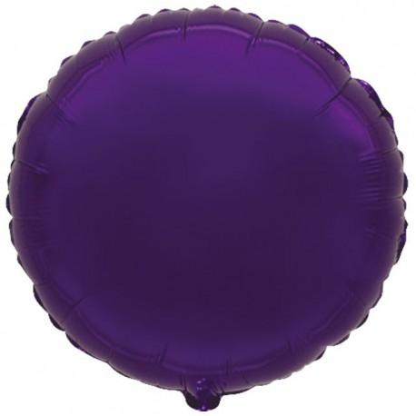 """Globos de foil Redondos de 18"""" Violeta"""
