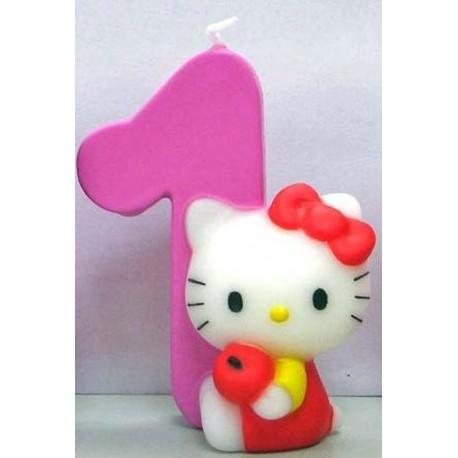 Velas Hello Kitty número 1