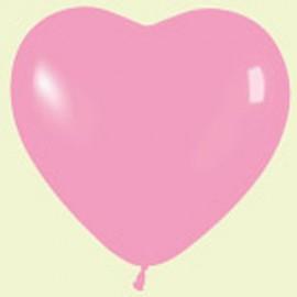 """Globos de 5"""" corazones Rosa"""