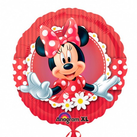 "Globos de foil de 18"" Minnie mouse"