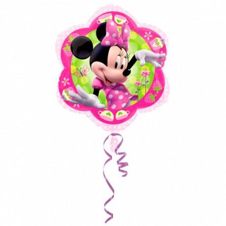 Globos de foil Jr. Shape 35cm x 38cm Minnie Saludando