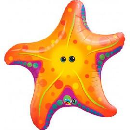 "Globos de foil supershape de 30"" Estrella de Mar"