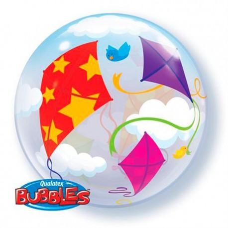 "Globos de foil de 22"" Bubbles Cometas En Vuelo"