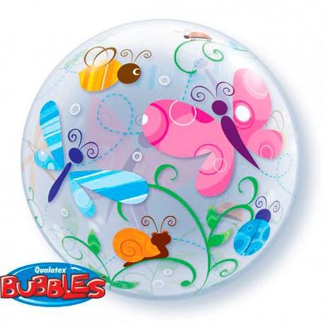 """Globos de foil de 22"""" Bubbles Insectos y Bichos"""