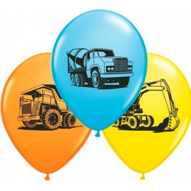 "Globos de 11"" Construccion Qualatex"