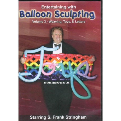 DVD Balloon Sculpting vol 3