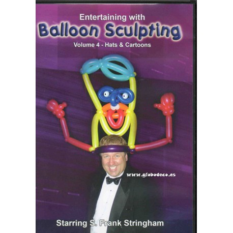 DVd Balloon Sculpting Vol 4