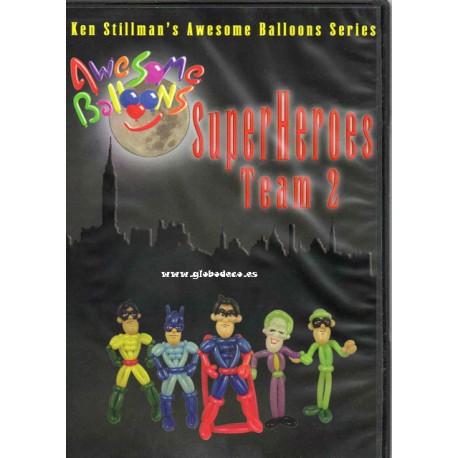 DVD Super Heroes Team 2 Ken Stillmans