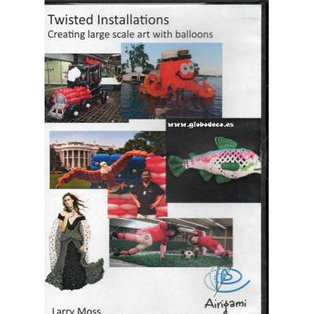 DVD Twisted Installations