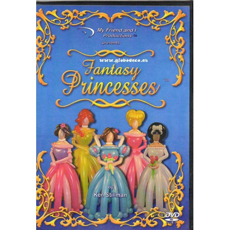 DVD Fantasy Princesses Ken Stillmans